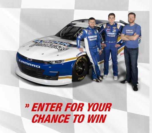 Armour Ride Along With Dale Sweepstakes