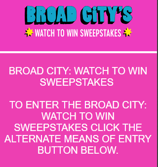 Broad City Watch to Win Sweepstakes - Win A Trip To New York