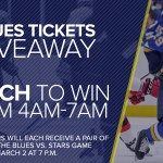 Blues Tickets Giveaway - Enter To Win A Pair of Tickets