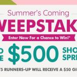Dollar Tree Summer Coming Sweepstakes