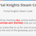 Gleam Giveaway - Chance To Win Portal Knights Steam Code
