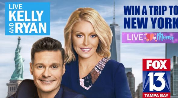 LIVE With Kelly & Ryan Mother's Day Trip Contest – Win A Trip To New York