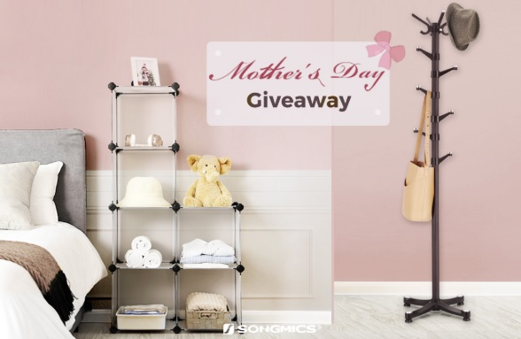 SONGMICS Mothers Day Giveaway – Win DIY Closet Cabinet