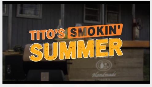 Titos Smokin Summer 2019 Sweepstakes - Win Titos Home Bars