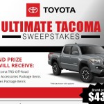 Ultimate Toyota Tacoma Sweepstakes