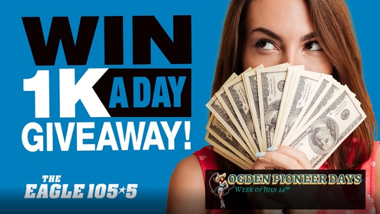 101.5 The Eagle 1K A Day Giveaway – Enter To Win $1000