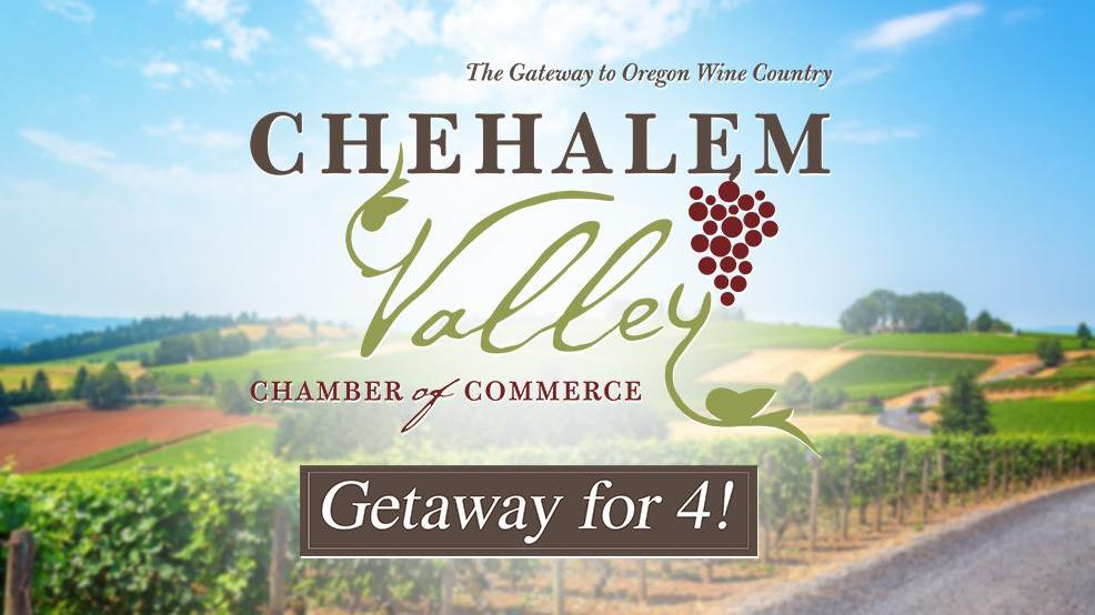 Chehalem Valley Chamber of Commerce Contest – Win One Voucher for two Night stay