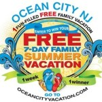 Ocean City NJ Vacation Giveaway - Win a Free Vacation to Ocean City New Jersey