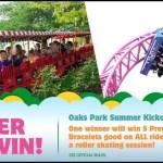 Oaks Park Summer Kickoff Contest - Chance To Win 5 Premier Ride Bracelets Good
