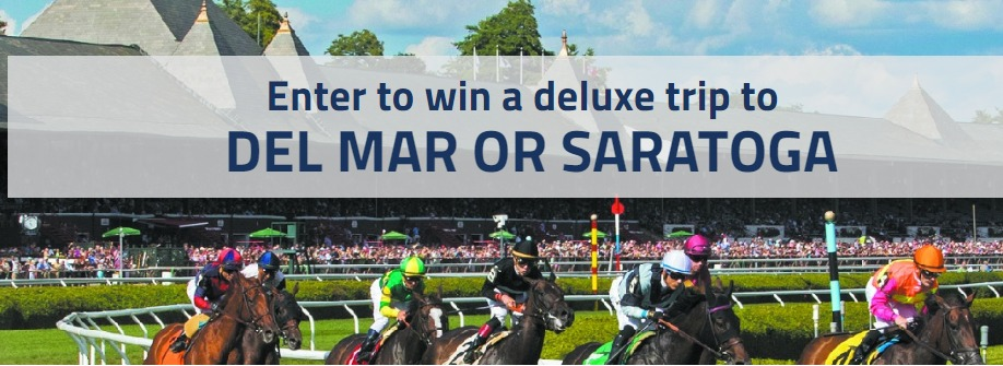 DRF Summer Sweepstakes – Win A Trip To Saratoga or Del Mar