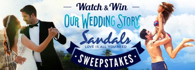 Our Wedding Story Watch & Win Sweepstakes – Win A Caribbean Vacation