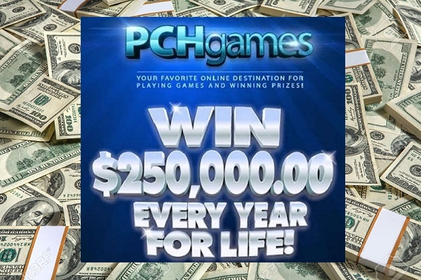 PCH.com Win $250,000 A Year For Life SuperPrize Giveaway - Chance To Win $1000000 Cash