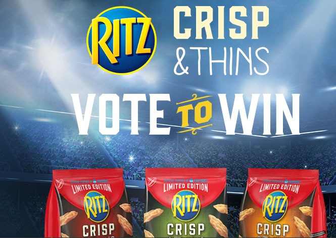 Ritz Rich Rivalries Instant Win Game Sweepstakes - Win A
