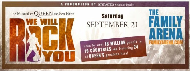 FOX 2s We Will Rock You Sweepstakes - Stand To Win Four Tickets