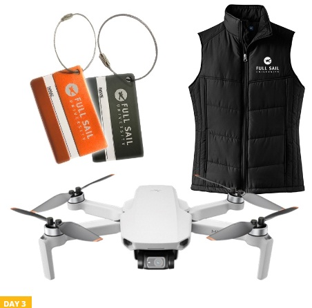Full Sail University 12 Days Of Gear Sweepstakes