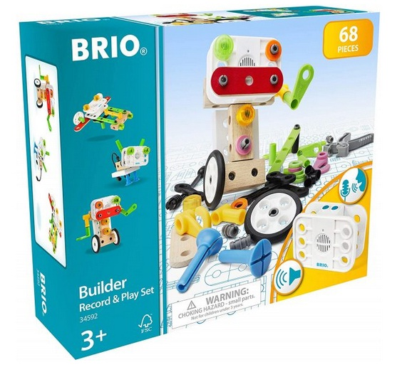 BRIO Builder Record And Play Set Giveaway