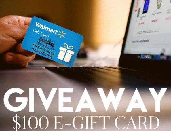 Ben Abbott Walmart Gift Card Giveaway