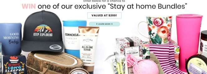 35th+Butter Stay At Home Sweepstakes