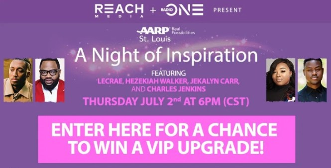 AARP St. Louis A Night Of Inspiration Sweepstakes