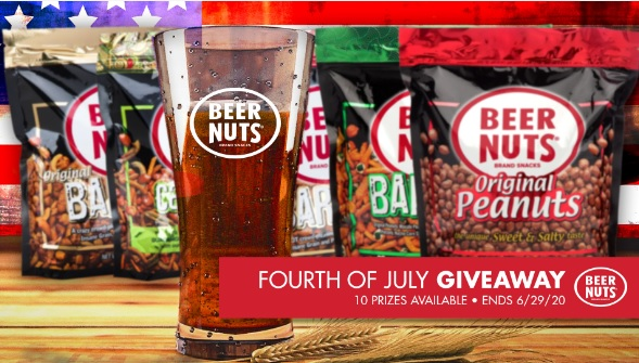 BEER NUTS Fourth of July Giveaway