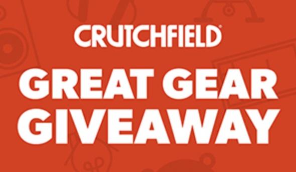 Crutchfield Great Gear March 2021 Giveaway