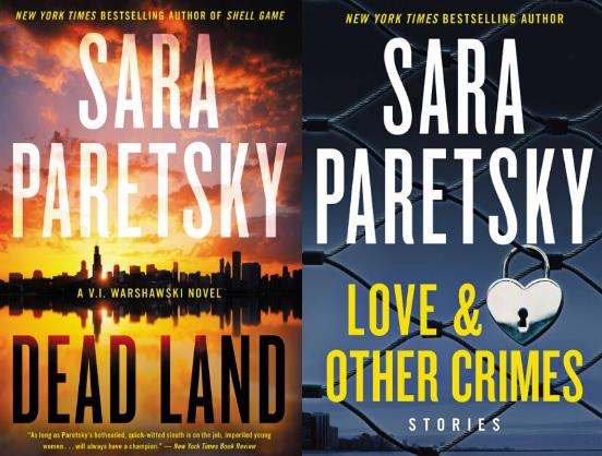 HarperCollins Sara Paretsky Sweepstakes