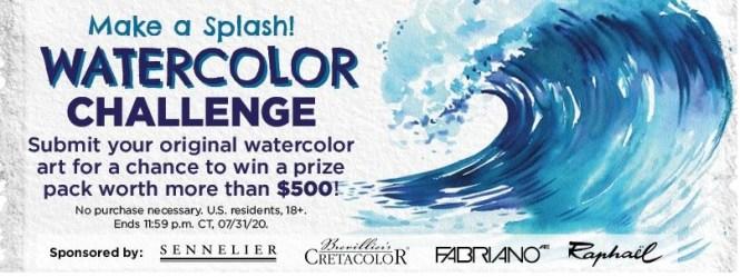 Blick Art Materials Watercolor Challenge Contest