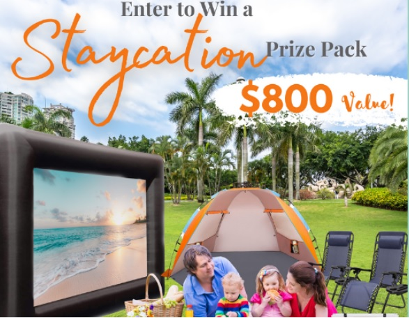 Crack Guys Staycation Prize Pack Giveaway