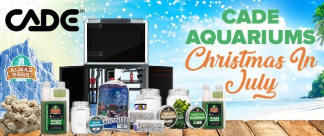 Live Copepods CADE Christmas In July Sweepstakes