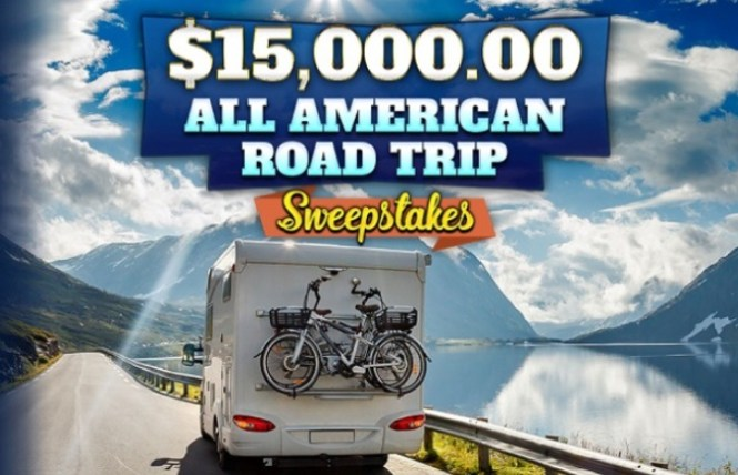 PCH.com American Road Trip Sweepstakes