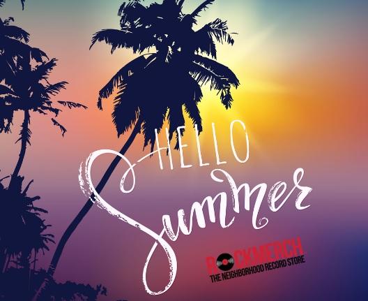 Rock Merch Hello Summer Sweepstakes