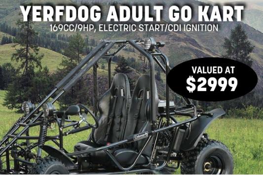 RuralKing.com Go Kart July Sweepstakes