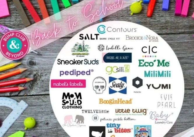 Bump Club And Beyond Back To School Giveaway