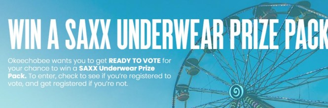 HeadCount Saxx Underwear Prize Pack Giveaway