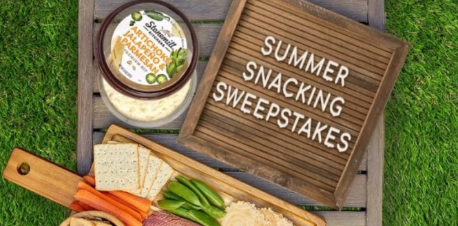 Stonemill Kitchens Summer Snacking Sweepstakes