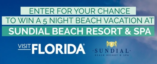 Sundial Beach Resort And Spa Beach Bag Getaway Contest