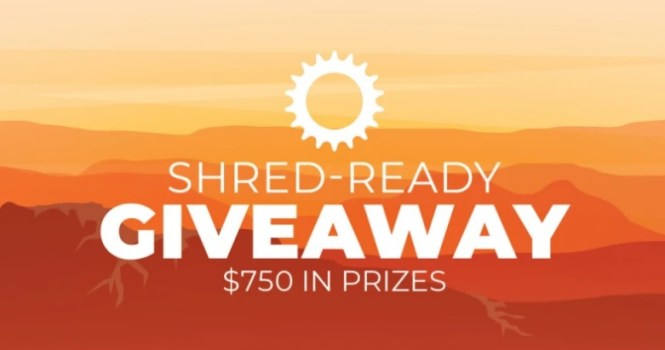 Campman Shred-Ready Monthly Giveaway