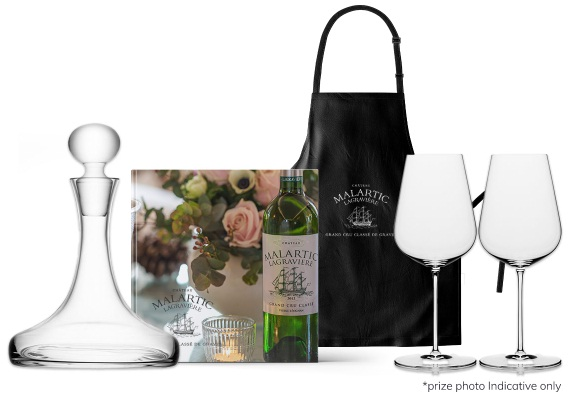 Chateau Malartic-Lagraviere Bordeaux From Home Giveaway