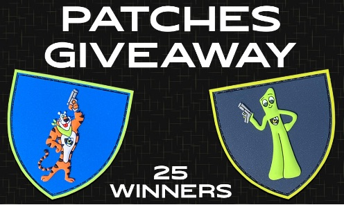 Night Fision Vintage Patches Giveaway
