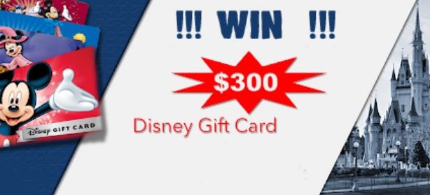 Planet Orlando $300 Disney Gift Card Giveaway