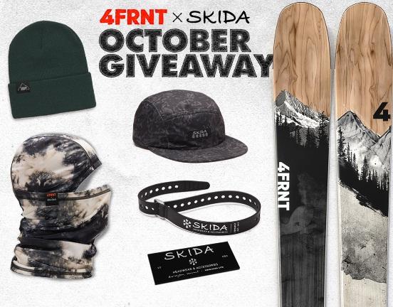 4Frnt X Skida Giveaway