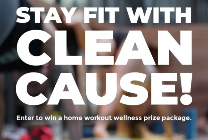 Clean Cause Stay Fit Home Workout Giveaway