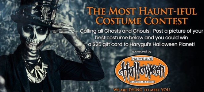 The Most Haunt-iful Costume Photo Contest