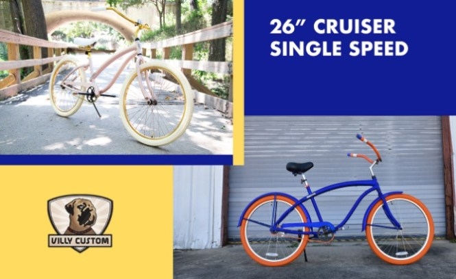 Bikeride Villy Custom Cruiser Bicycle Giveaway