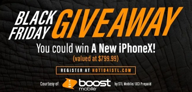 Boost Mobile By STL Mobile Black Friday Giveaway