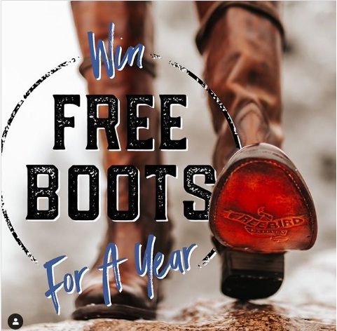 FREE Boots For A Year Giveaway
