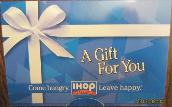 GayNYCDad IHOP Gift Card Giveawa