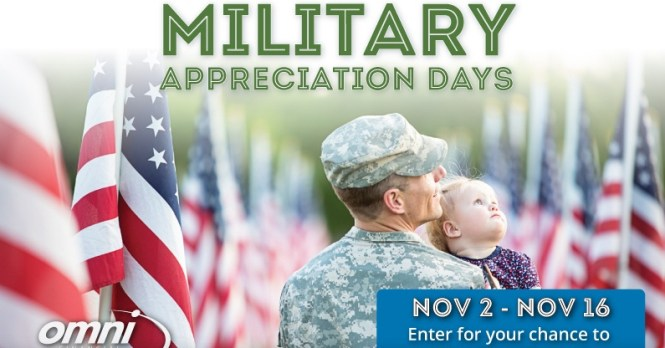 Omni Military Loans Military Appreciation Month Giveaway