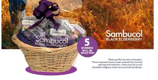 PharmaCare US Sambucol Immune Support Giveaway