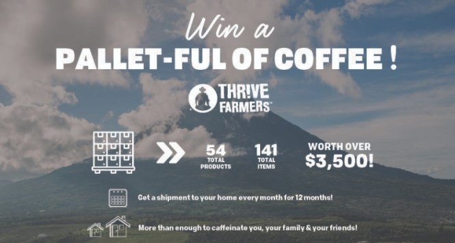 Salem Media Pallet-Ful Of Coffee Contest